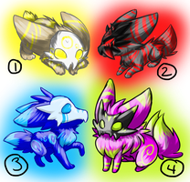 Themed Viricron Adopts --CLOSED by FlamesVoices