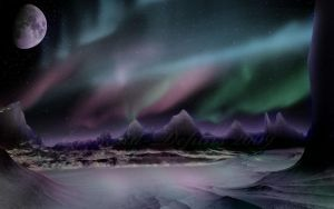 The Northern Lights by Emerald-Depths