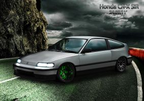 Honda CR-X SiR by apple-yigit-jack