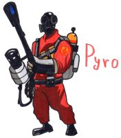 Pyro by YouCanDrawIt