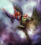 Spidey Thursday 23 Chavis mode by SpiderGuile