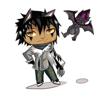 Commision - Chibi Blade Master by RuneSlays
