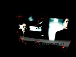 wentworth miller wallpaper by LadyDyme