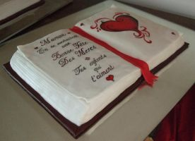 French Mothers day cake by Shoshannah84