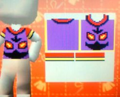 Purple Arbok for My Sims Kingdom (DS) by SpellboundFox