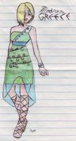 my prom dress desing by hermionejgranger