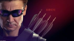 Hawkeye Wallpaper by bubblenubbins