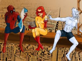 The Spider Friends by Ielle77