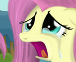 Fluttershy's Tears... by SimeonLeonard