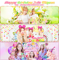 [Share PSD] Happy Birthday sister Julie Miyeon by shinbyun2k2