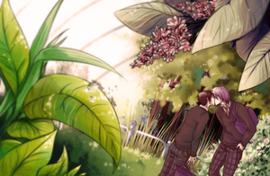 In the Botanical garden by Rudaxena