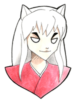 Inuyasha by surrealtoons
