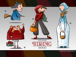 Red-riding-hood-002 by minifong
