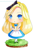 Chibi Alice by robotswilcry