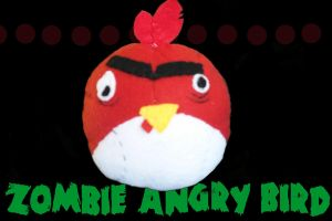 Zombie Angry Bird by omgOVER9000
