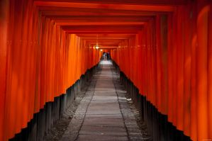 Inari Temple by 4d0