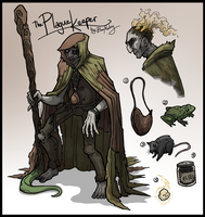 The Plague Keeper by kjmarch