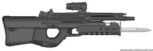 M-50 SMAR Standard Military Assault Rifle by BurnerMeen