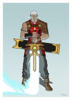 Character Design: Roth Lorick by Toks-S