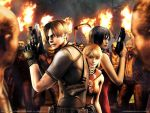 RE4 wall 1 by Terry--Sunderland
