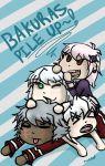 Bakuras pile up~! by Mariktops