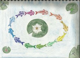 Koi Color Wheel by miblover334