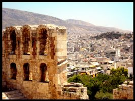 The Grand View of Athens by EclipseWolfe