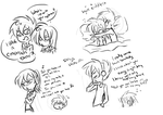 And even more shipping doodles by Annie-Aya