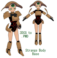 MMD- Strange Base -DL by MMDFakewings18
