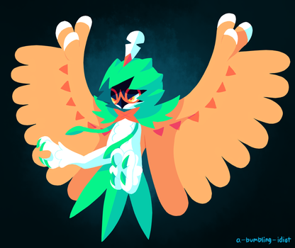 Decidueye by A-Bumbling-Idiot