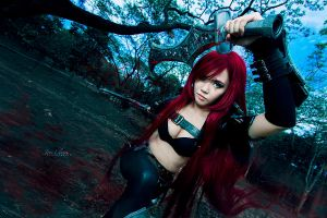 League of Legends: Katarina by JoviClaire