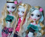 the three Lagoona girls x3 by prettyinplastic