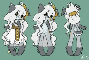 Puppy design (closed) by LunarAdopts