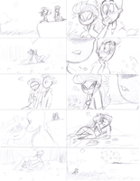Wild Kratts comic sketch by LaCatrinita