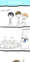 Free! 4koma - Pool... by kuro-alichino