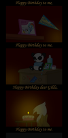 A Real Party Of One (Vectored) by RainbowDerp98