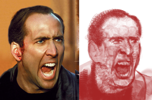 Quick Study: Nicolas Cage by DrD-no