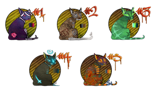 Spoopy Goopy Sphinxes [CLOSED] by rottenstarboy