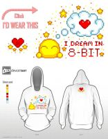 I dream in 8-Bit - deviantWEAR Challenge Entry by r0se-designs