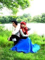 C U -:- Wacky Ariel and Relaxing Eric by Vanne
