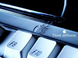 Think Different - Pro Keyboard by benettokimo
