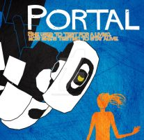 Portal/Misery Movie Poster W(no longer)IP by DeadGreySnow
