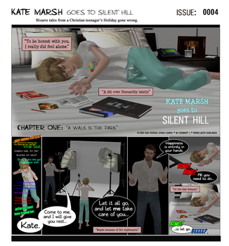 KM Goes to Silent Hill [Issue# 0004] by campinkarl