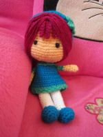 Amigurumi doll by Anitadoma