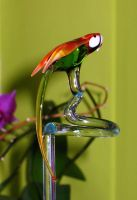 Rod for Orchids, Parrot by Glasmagie