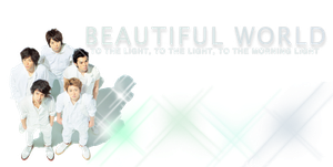 BW, bright header Ver.2 by frago86