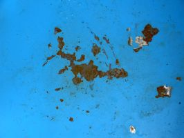Rust and chipped paint by sigurd3000
