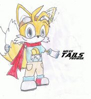 Tails anime gear Colour by Dengen-Toshiko
