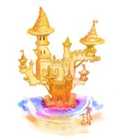 Sandcastle by chaosLT