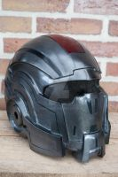 mass effect N7 helmet by Tribalgent